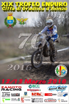 volantino enduro gradisca d'isonzo 2016 campionato triveneto friuli