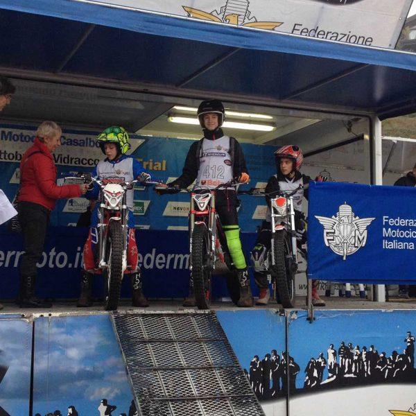La Squadra Giovanile FVG 5^ al Trial Delle Regioni 2016