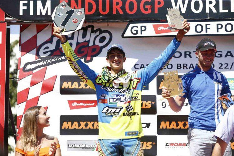 Andrea Verona vince il Campionato Mondiale Enduro Youth 2017