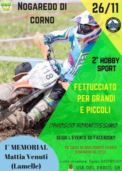 memorial mattia venuti 2017 hobby sport
