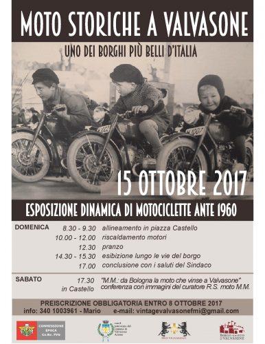 Moto storiche a Valvasone il 15 ottobre
